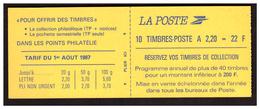 Liberté De DELACROIX Carnet N° 2427 C2 - Carnets