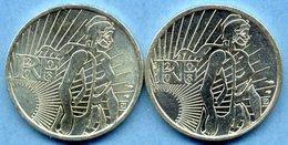 France - 5 Euros 2008 Argent Neuves Lot 2 Pièces De Monnaies - France