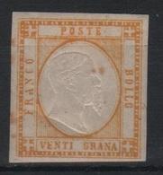 1861 Province Napoletane 20 Gr. MLH - Napoli