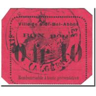 Billet, Algeria, 10 Centimes, 1915, Undated (1915), NEUF - Algérie