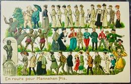 MANNEKEN PIS Bruxelles - BELGIQUE BELGIE - Cpa Carte Postale #1/24 - Monumenti, Edifici