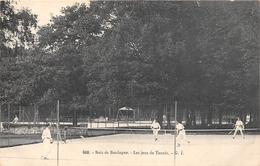 ¤¤  -   PARIS  -  Bois De Boulogne   -  Les Jeux De Tennis    -  ¤¤ - Arrondissement: 16