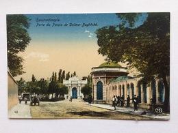 Turkey Türkei Turquie ~ 1920, Constantinople Istanbul, Porte Du Palais De Dolma Baghtché - Turkije