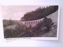Stuttgart-Ulm. Reichsautobahn. Viadukt Bei Gosbach. Ansichtskarte. - Deutschland