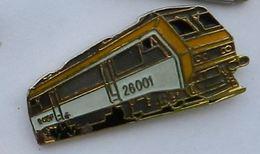 T80 Pin's TGV  SNCF MICHELINE 28001 Qualité Egf  Achat Immediat - TGV