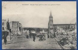 BACCARAT   Rue Des Ponts Après Le 25 Août 1914     Animées     écrite En 1925 - Baccarat