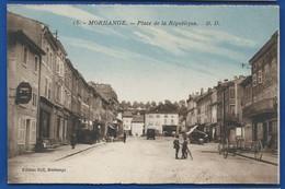 MORHANGE   Place De La République       Animées - Morhange