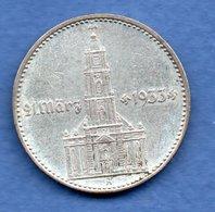 Allemagne   - 2 Reichsmark 1934 A  -  état TTB  - - [ 4] 1933-1945 : Third Reich