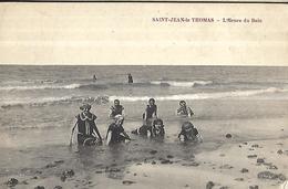 50  Saint Jean Le Thomas  L' Heure Du Bain - Swimming