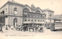 ¤¤  -   PARIS    -  La Gare Montparnasse   -   Tramway , Chemin De Fer    -  ¤¤ - Paris (15)