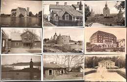 Suède Sweden  - Lot Of 11 Postcards (see Scans) - Suède