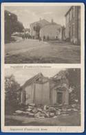 ANGOMONT   Dorfstrasse  Kirche    Animées  écrite En 1915 - Francia