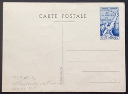 PEP15-2 Entier Postal Carte Éclaireur De France Com S1 - Entiers Postaux