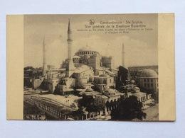 Turkey Türkei Turquie, Constantinople Istanbul, Ste Sophie, Vue Générale De La Basilique Byzantine, Mosquée Mosque - Turkije