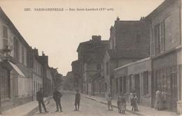 75015 PARIS - Rue Saint Lambert - Arrondissement: 15