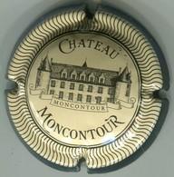 CAPSULE-VAL DE LOIRE-CHATEAU MONCONTOUR Crème & Noir - Placas De Cava