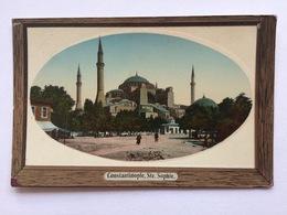 Turkey Türkei Turquie, Constantinople Istanbul, Ste Sophie, Mosquée Mosque - Turkije