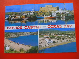 Paphos CASTLE.CORAL BAY - Cyprus