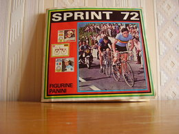 Album Chromos Images Vignettes Panini *** Sprint 72 *** FR - Chromos