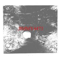 Entrée De L'Abbaye Du Val En 1902 - Plaque De Verre - Taille 43 X 45 Mlls - Glass Slides