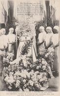 PARIS Bombardé (Avril 1918) - Un Obus Sur Une Crèche - Les Infirmières Veillant Le Cercueil De Leur Camarade Mlle LAIR T - Guerre 1914-18