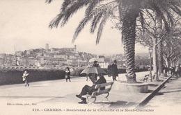 CANNES - ALPES-MARITIMES   (06)  -  2 CPA  ANIMÉES. - Cannes