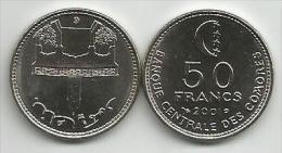 Comoros 50  Francs 2001. High Grade - Comoros