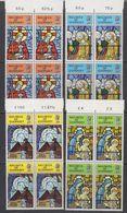 Guernsey 1973 Christmas 4v Bl Of 4 ** Mnh (42532) - Guernsey