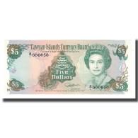 Billet, Îles Caïmans, 5 Dollars, 1991, KM:12a, NEUF - Kaimaninseln