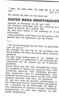 Zuster, Soeur, Maria Swertvaegher, Adinkerke, Veurne, De Panne - Godsdienst & Esoterisme