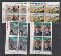 Guernsey 1974 Paintings / Renoir 4v Bl Of 4 ** Mnh (42532B) - Guernsey