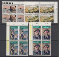 Guernsey 1974 Paintings / Renoir 4v Bl Of 4 ** Mnh (42532C) - Guernsey