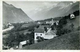 N°72368 -cpsm Les Houches -vue Générale Et L'Arves- - Les Houches