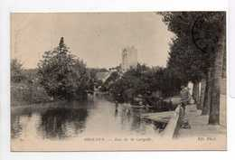 - CPA ISSOUDUN (36) - Rue De La Gargolle 1917 (avec Personnages) - Photo Neurdein N° 30 - - Issoudun