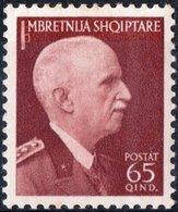 ITALIA, ITALY, OCCUPAZIONE ALBANIA, 65 Q, 1939, FRANCOBOLLO NUOVO (MLH*) Sass. 25, Scott 319,  YT 266 - Albania