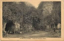 - Dpts Div.-ref-AH992- Finistere - Le Relecq - Ruines De L Ancienne Abbaye - Abbayes - Religions - Carte Bon Etat - - Francia