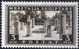ITALIA, ITALY, OCCUPAZIONE ALBANIA, 3 Fr., 1939, FRANCOBOLLO NUOVO (MLH*) Mi. 310,  Sass. 28, Scott 322,  YT 269 - Albania