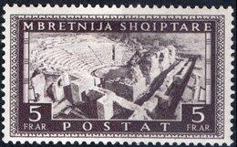 ITALIA, ITALY, OCCUPAZIONE ALBANIA, 5 Fr., 1939, FRANCOBOLLO NUOVO (MLH*) Mi. 311,  Sass. 29, Scott 323,  YT 270 - Albania