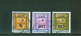 LIBYA - 1973 Coil Stamps Rouleau Rollenmarken (Fine Used PMK) - Libyen