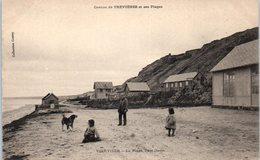 14 - VIERVILLE Sur MER --  La Plage, Côté Ouest - France
