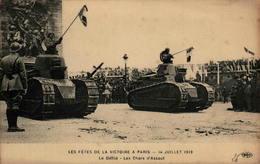 PARIS - Les Fêtes De La Victoire - 14 Juillet 1919 - Le Défilé - Les Chars D'assaut - Guerre 1914-18
