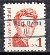 USA Precancel Vorausentwertung Preo, Locals Illinois, Port Byron 843 - Etats-Unis