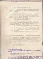 Chemins De Fer / Police Des Gares Et Stations / Contraventions / Usage Signal Alarme / 1920/30 - Décrets & Lois