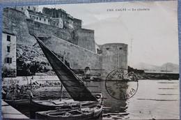 20 Corse CPA Calvi La Citadelle 1751 - 1935 - Barque Pêche - Calvi