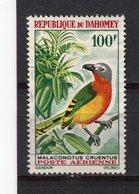 DAHOMEY - Y&T Poste Aérienne N° 38° - Oiseau - Gladiateur à Poitrine Rouge - Bénin – Dahomey (1960-...)