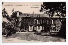 - CPA INGRANDES-DE-TOURAINE (37) - Le Château Des Minières 1934 - Edition Guessard - - Francia