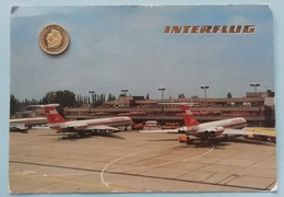 Berlin-Schönefeld, Flughafen, Interflug, Iljushin, 1988 - Schönefeld