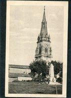 CPA - ARCHIAC - Le Clocher Et Le Monument Aux Morts - Autres Communes