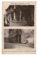 Militaire Militaria Guerre 1914 1918 Campagne D' Orient Grece Salonique Coins De La Ville Après Incendie Du 18 Aout 1917 - War 1914-18
