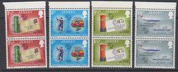 Jersey 1974 Centenary UPU 4v Pair ** Mnh (42533F) - Jersey